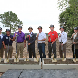 Groundbreaking for SWLA OneLodge North Worker Village