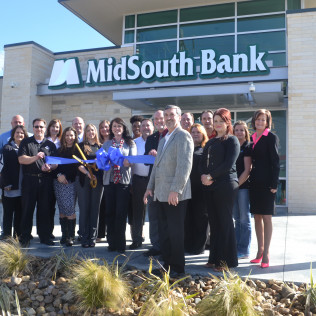 MidSouth Bank Ribbon Cutting