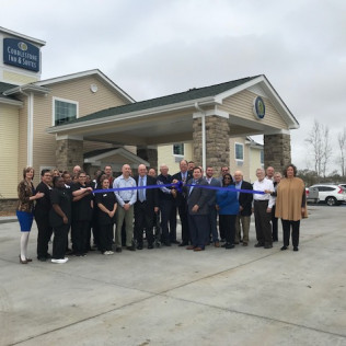 Cobblestone Inn & Suites Grand Opening in Vinton, LA