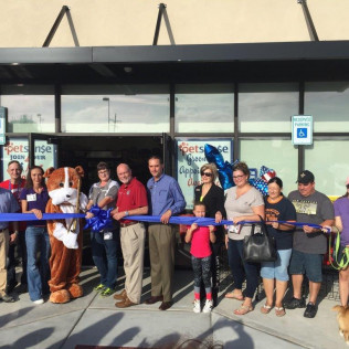 Petsense Ribbon Cutting Saturday, October 7th 2017