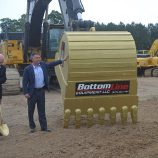 BottomLine Equipment, LLC Ground Breaking for new facility