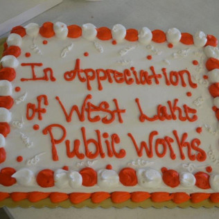Westlake Public Works Dept Appreciation Lunch