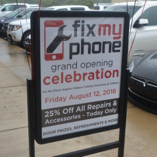 Fix my Phone - Ribbon Cutting / Grand Opening - 08/12/2016