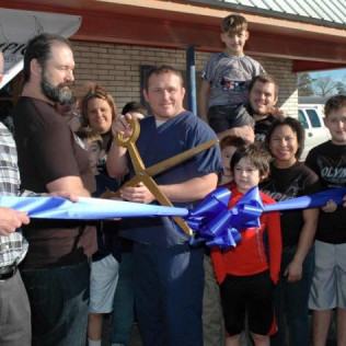 Olympic Mixed Martial Arts & Fitness Ribbon Cutting